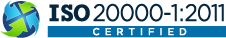 Certified ISO 20000-1:2011