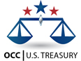 OCC U.S. Treasury logo
